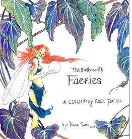 Diane Sams The Birthmonth Faeries Coloring Book by Diane Sams