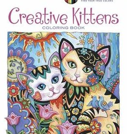 Creative Haven Creative Kittens Coloring Book by Creative Haven
