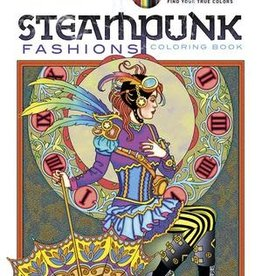 Creative Haven Steampunk Fashions Coloring Book by Creative Haven