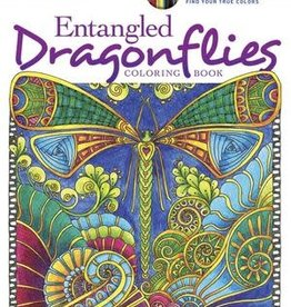 Creative Haven Entangled Dragonflies Coloring Book by Creative Haven