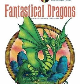 Creative Haven Fantastical Dragons Coloring Book by Creative Haven