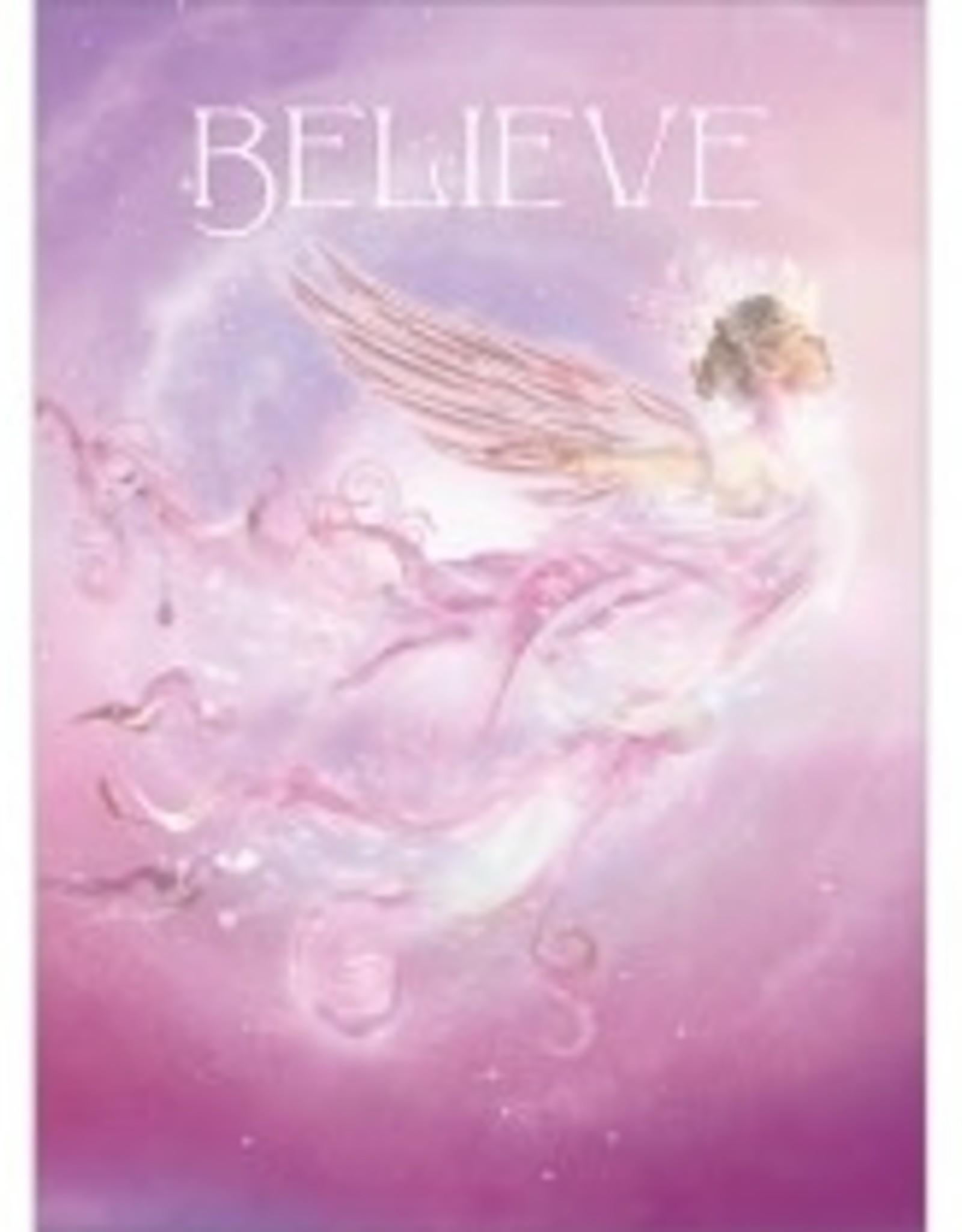 Tree - Free Greetings Believe - Greeting Card