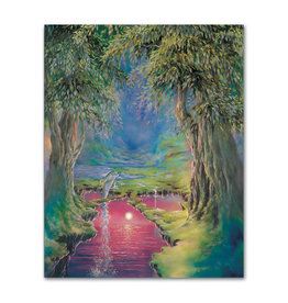 Gabriell Between Two Worlds - Greeting Card