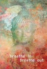 Tree - Free Greetings Buddha Breathe - Greeting Card