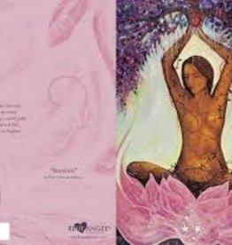 Blue Angel Shambala - Greeting Card