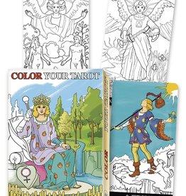 Barbara Moore Color Your Tarot by Barbara Moore