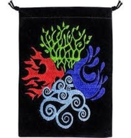 4 Elements Velvet Tarot Bag