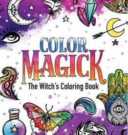 Raven Williams Color Magick Coloring Book by Raven Williams