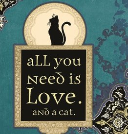 Amber Lotus All You Need is Love - Greeting Card