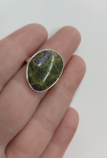Atlantisite Ring - Size 6 Sterling Silver
