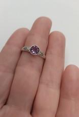 Amethyst Ring B - Size 7 Sterling Silver