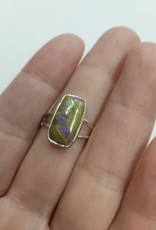 Atlantisite Ring - Size 10 Sterling Silver
