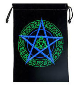 Celtic Star Velvet Tarot Bag