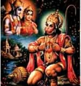 Hanuman - Laminated Cards