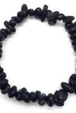 Black Obsidian - Chip Bracelet