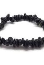 Black Tourmaline - Chip Bracelet