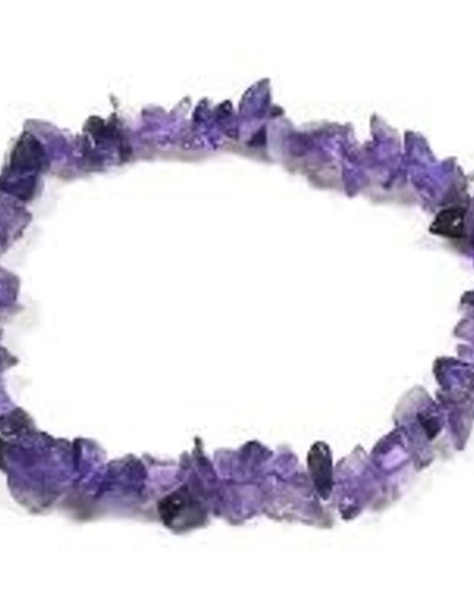 Amethyst - Chip Bracelet
