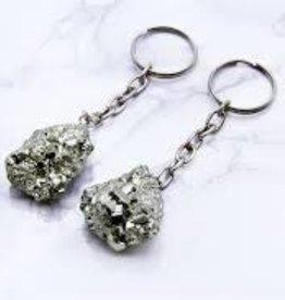 Mineral Keychain - Pyrite