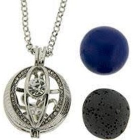 Aromatherapy Pendant-Necklace Ball-Evil Eye Protection