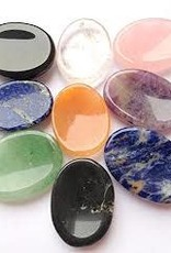 Crystal Worry Stones - Assorted