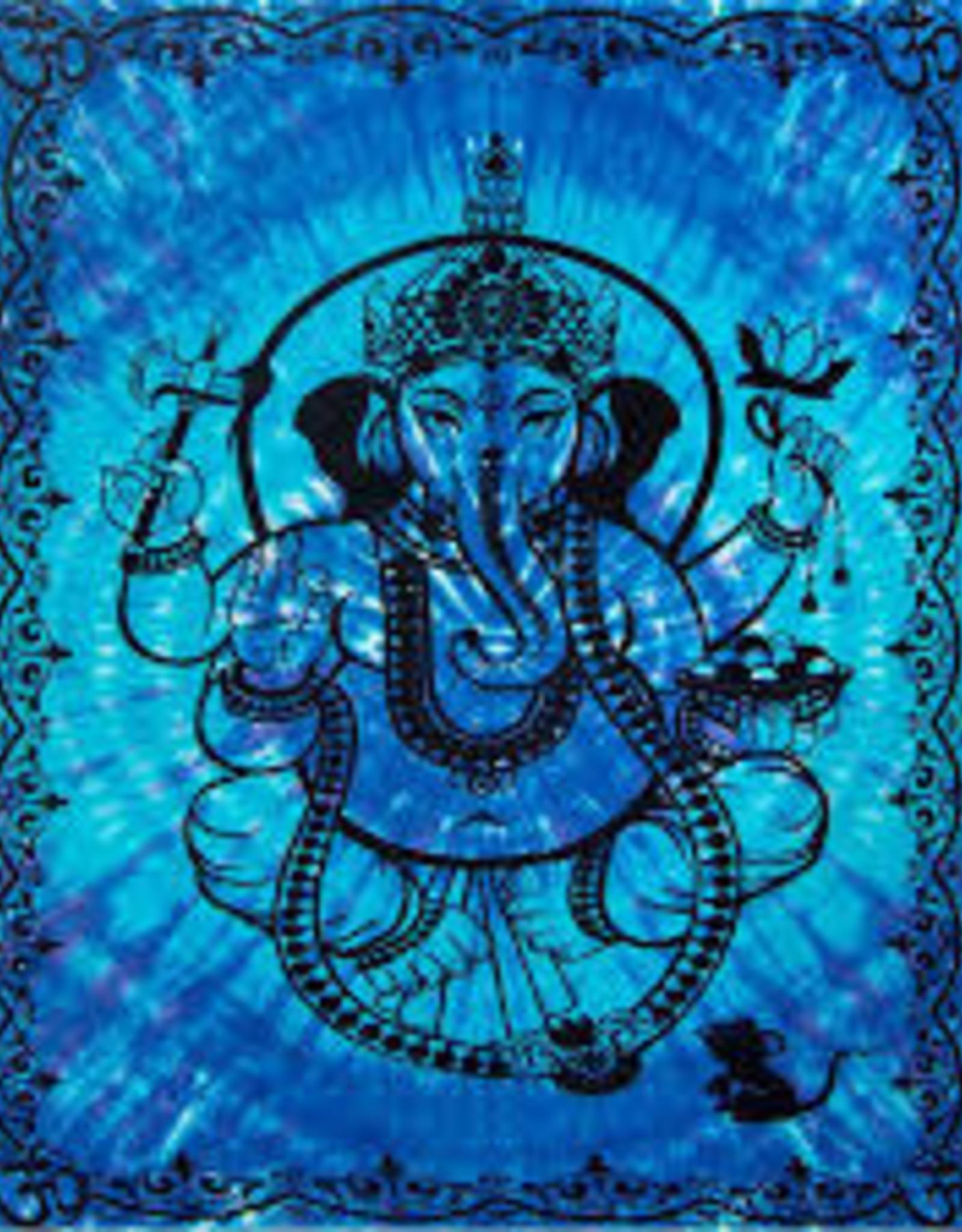 Blue Ganesha - Tapestry