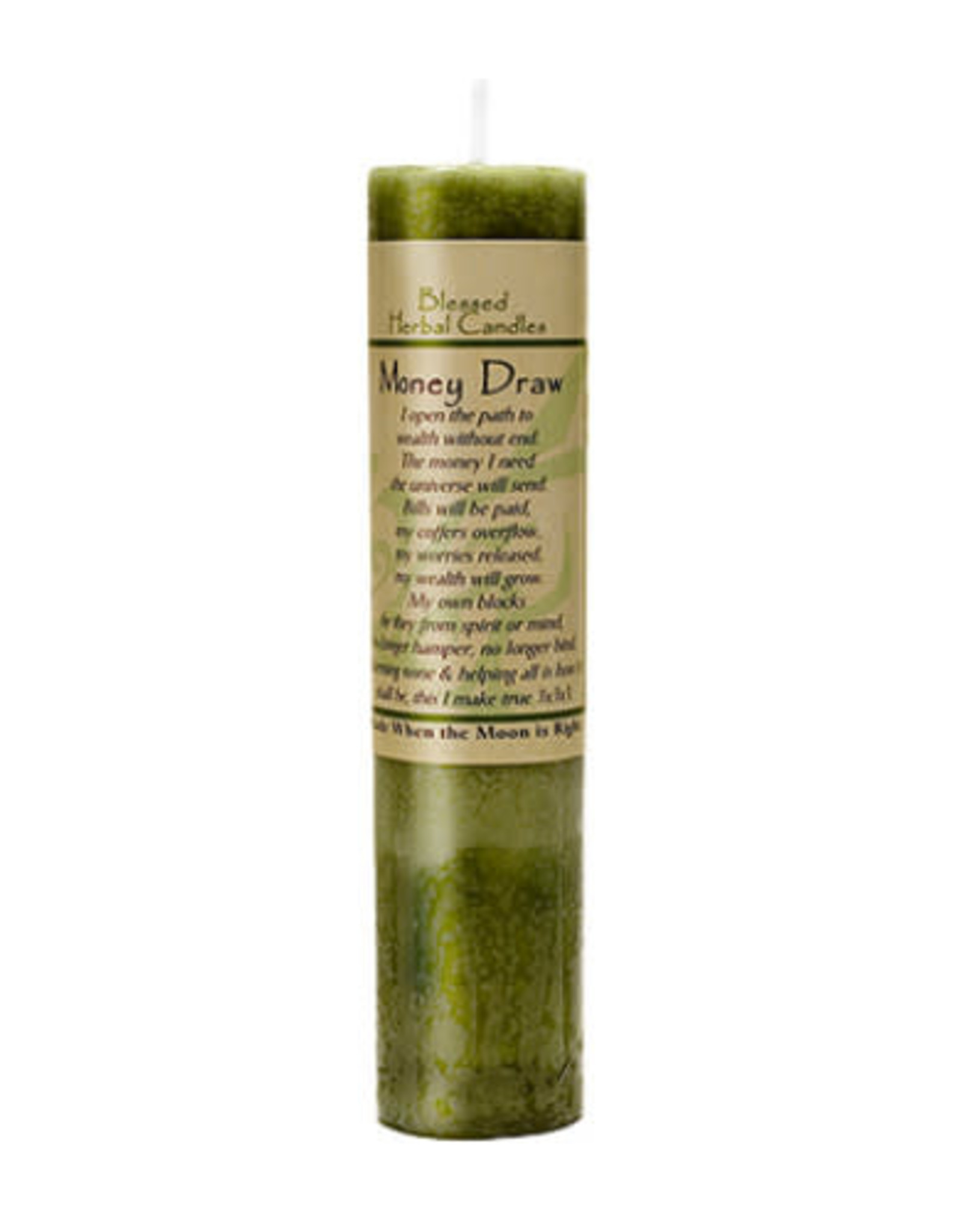 Coventry Creations Blessed Herbal Candle - Money Draw