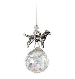 Off The Wall Creations Crystal Art - Chakra Dog