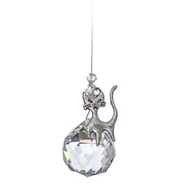 Off The Wall Creations Crystal Art - Chakra Cat