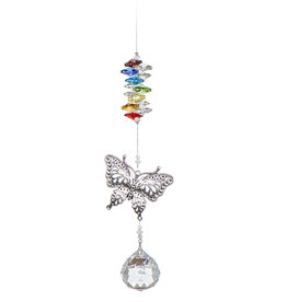 Off The Wall Creations Crystal Art - Butterfly Chakra
