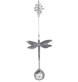 Off The Wall Creations Crystal Art  Dragonfly - Clear