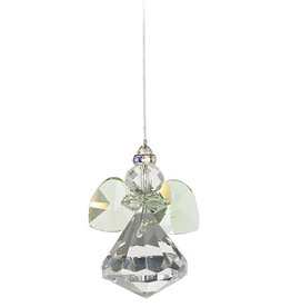 Off The Wall Creations Crystal Art Angel - Green