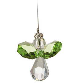 Off The Wall Creations Crystal Art - Angel Green B