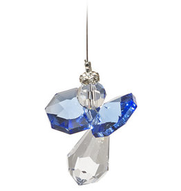 Off The Wall Creations Crystal Art - Angel Dark Blue B
