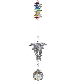 Off The Wall Creations Crystal Art - Dolphins Chakra