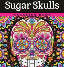 Design Originals Sugar Skulls Coloring Book