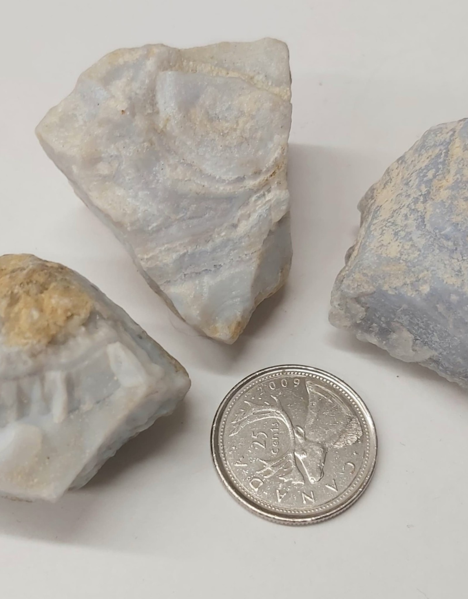 Blue Lace Agate Raw Large