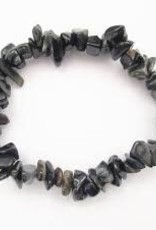 Blue Tiger Eye - Chip Bracelet