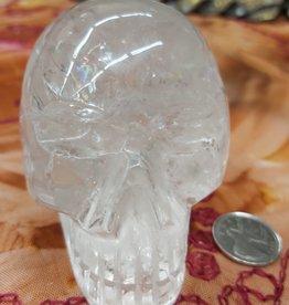 Clear Quartz Skull 3.5in - $288