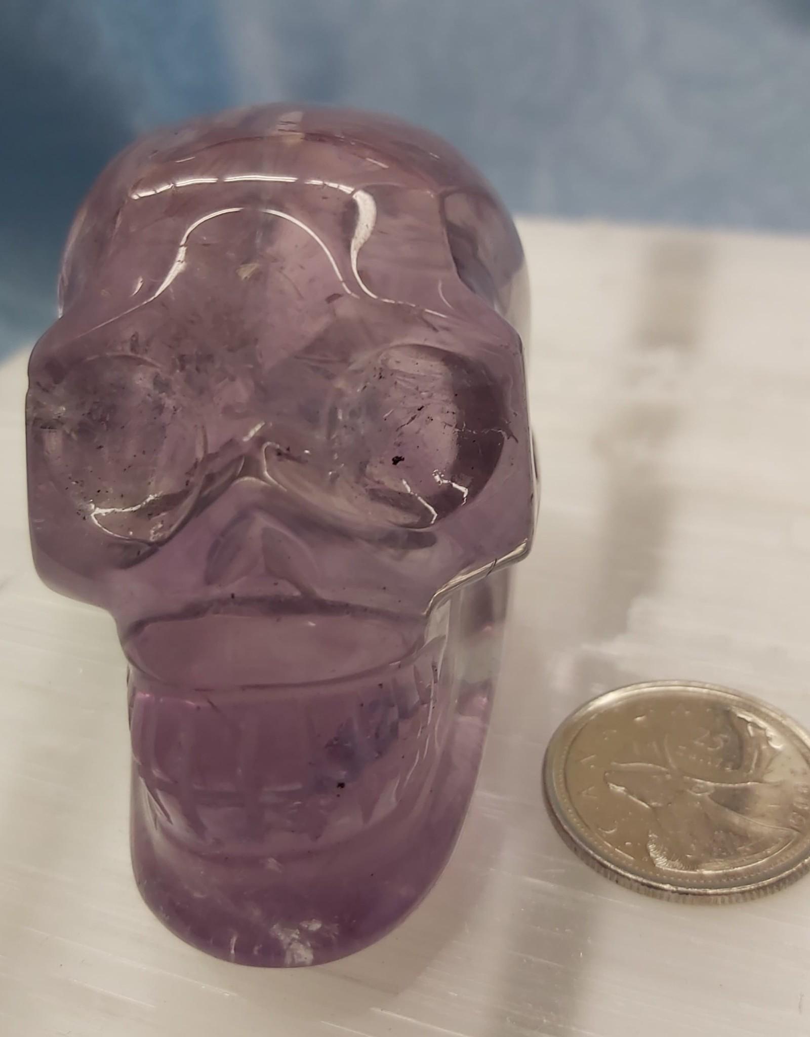 Amethyst Skull 2.75in - $79