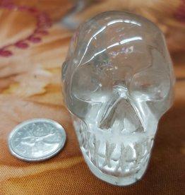 Clear Quartz Skull 3in - $111