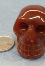 Carnelian Skull - 1.5in