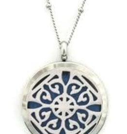 Aromatherapy Diffuser Necklace - Classic Filigree