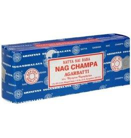 Satya Sai Baba Nag Champa SATYA Incense Sticks - 250g