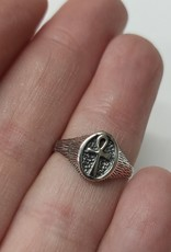 Ankh Ring - Size 4 Sterling Silver