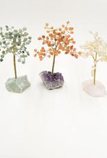"Carnelian Gem Tree   6"""