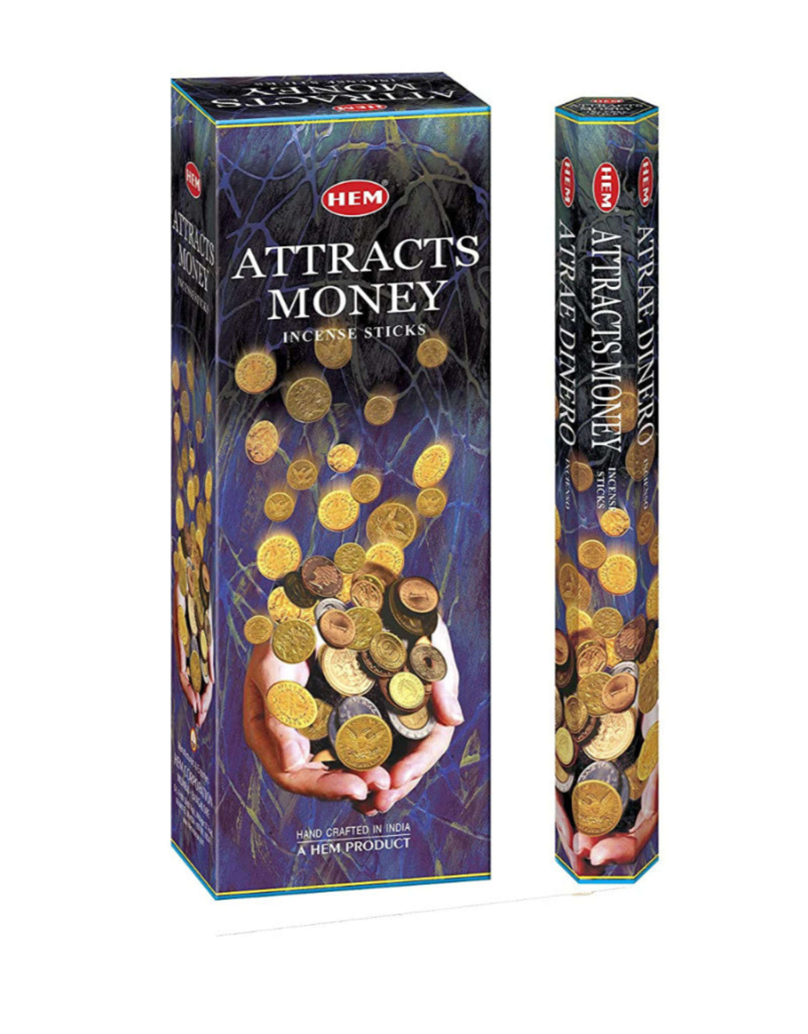 HEM Attracts Money Incense Sticks