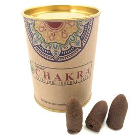 GOLOKA Chakra GOLOKA Backflow Incense Cones