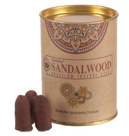 GOLOKA Sandalwood GOLOKA Backflow Incense Cones