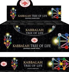 Green Tree Kabbalah Tree of Life Green Tree Incense Sticks - 15g