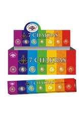 Green Tree 7 Chakras Incense Sticks